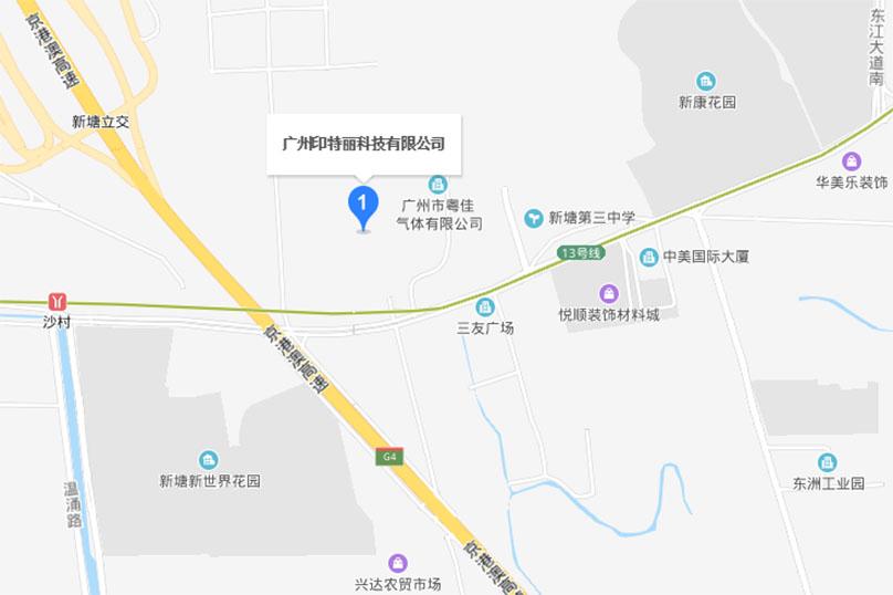 广州图文快印地图